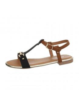 Sandale cu talpa joasa Fashion Black