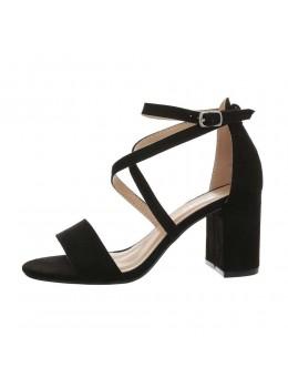 Sandale Fashion Black cu bareta