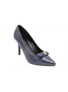 Pantofi damă Habbibi Stiletto elegant, Bleumarin