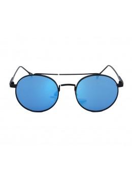 Ochelari de soare Fashion Round Blue-Black