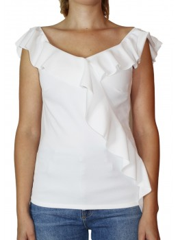 Tricou Divine Fashion White