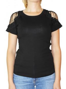 Tricou dama Negru Fashion Violleta