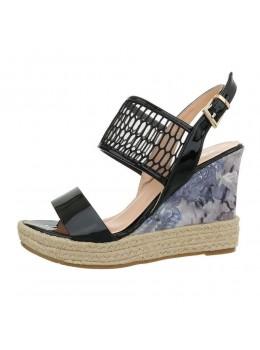 Sandale Fashion Floral cu platforma