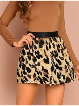 Fusta dama Fashion Leopard