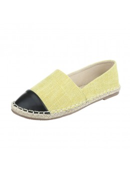 Espadrile dama Fashion Yellow