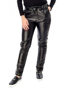 Pantaloni damă din piele ecologică Skinny Lorena