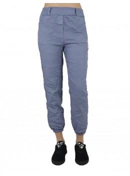 Pantaloni dama Pronto Moda Bleumarin