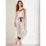 Pijama dama cu dantela Fashion Satin