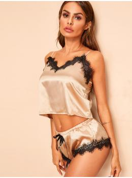Pijama dama Fashion Gold