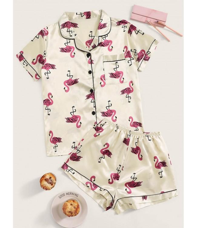 Pijama dama satin Rebecca
