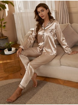 Pijama dama satin Endless Heart