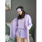 Set pijama dama 4 piese Lila