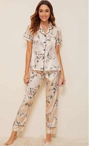 Pijama dama satin Amelia