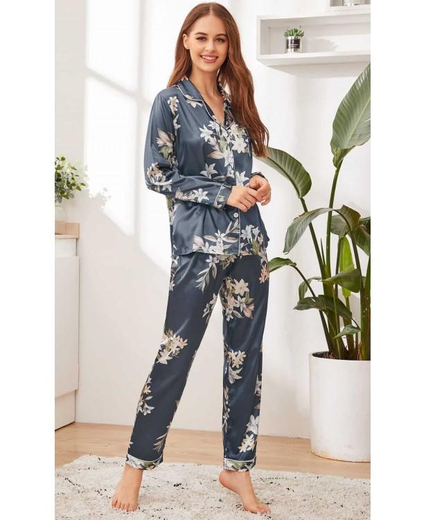 Pijama dama satin Beatrice