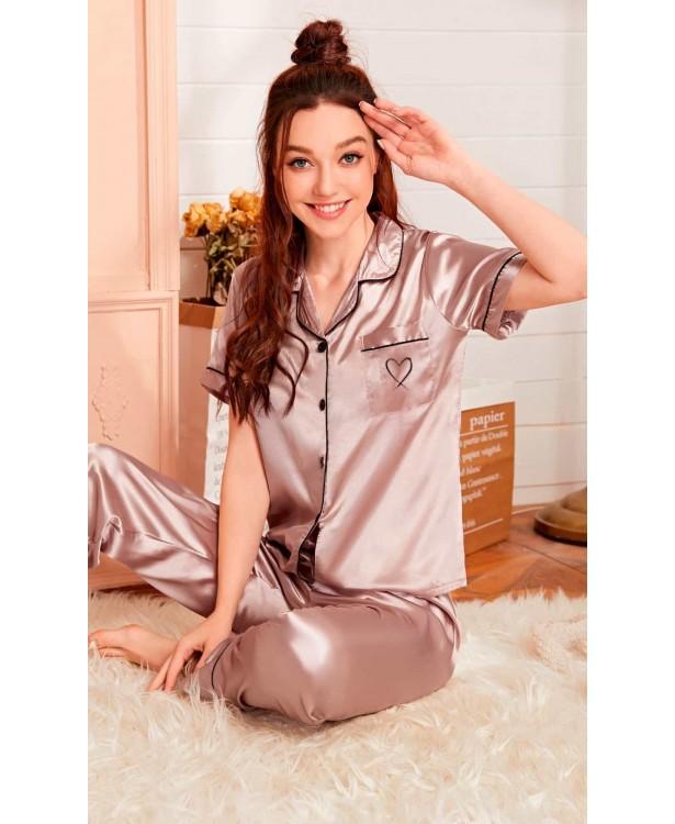 Pijama dama satin Alissa