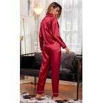 Pijama dama satin Scarlet Red